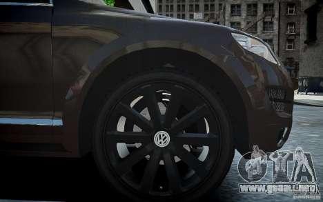 Volkswagen Touareg R50 para GTA 4 vista interior