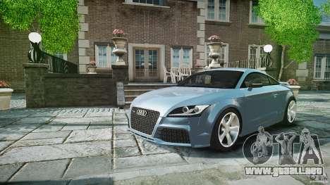 Audi TT RS 2010 para GTA 4 interior