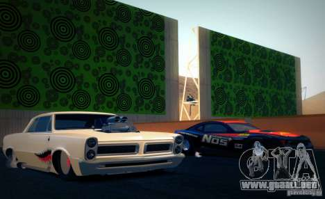 Pontiac GTO Drag Shark para la visión correcta GTA San Andreas