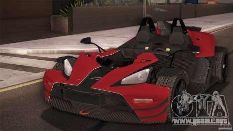 KTM-X-Bow para la visión correcta GTA San Andreas
