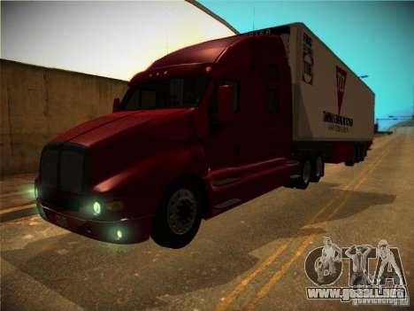 Kenworth T2000 v 2.5 para visión interna GTA San Andreas