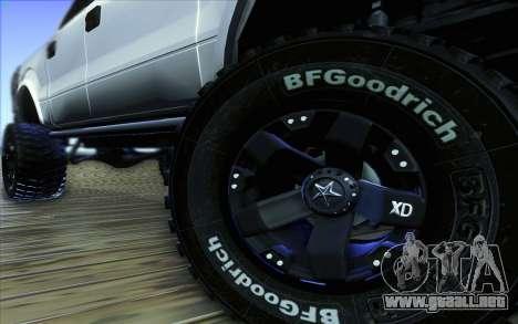 Ford F-150 Carryer Metal Mulisha para la vista superior GTA San Andreas