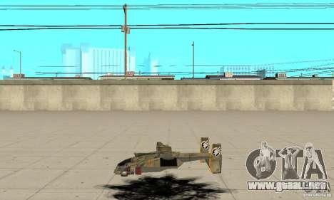 Halcón para GTA San Andreas left