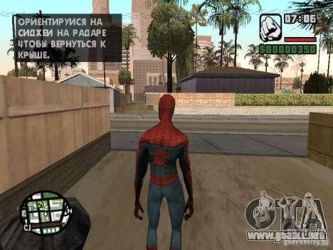 Spider-man 2099 para GTA San Andreas tercera pantalla