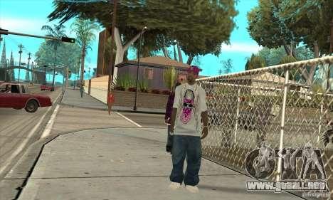 Reemplace todas las pieles East Side Ballas para GTA San Andreas tercera pantalla