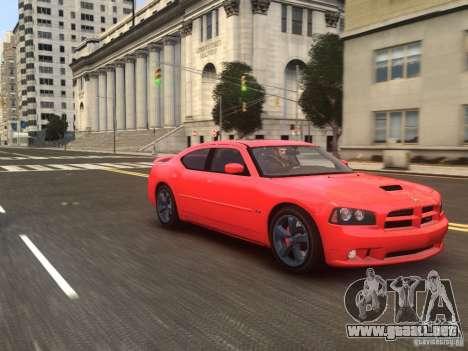 Dodge Charger SRT8 2006 para GTA 4 visión correcta
