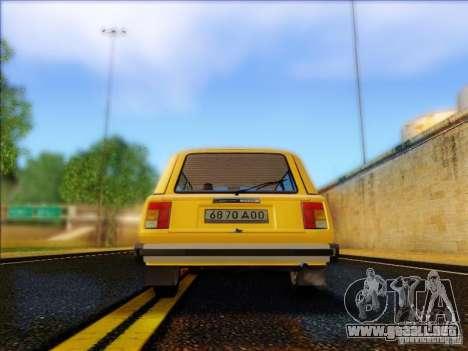 VAZ 2104 Taxi para la visión correcta GTA San Andreas