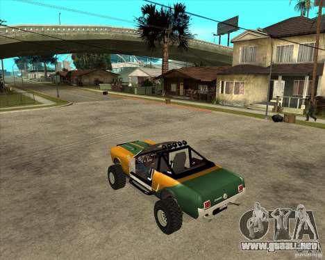 Ford Mustang Sandroadster para GTA San Andreas left