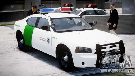 Dodge Charger US Border Patrol CHGR-V2.1M [ELS] para GTA 4 left