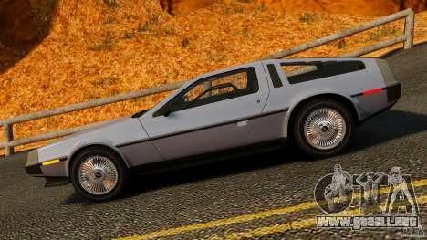 DeLorean DMC-12 1982 para GTA 4 left