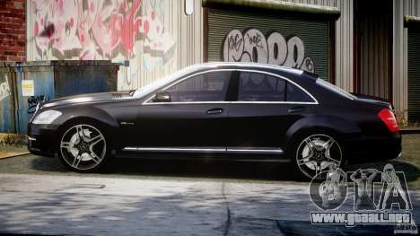 Mercedes-Benz S63 AMG [Final] para GTA 4 left