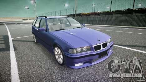 BMW 318i Touring para GTA 4 vista hacia atrás