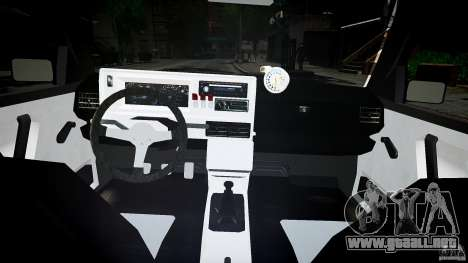 Volkswagen Golf 2 Low is a Life Style para GTA 4 vista lateral
