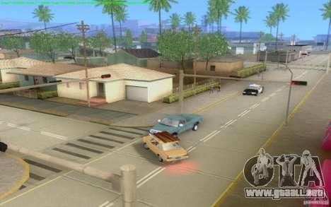 Caminos concretos de Los Santos Beta para GTA San Andreas décimo de pantalla