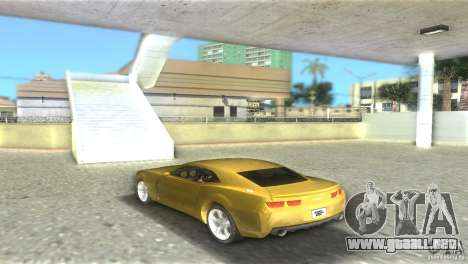Chevrolet Camaro para GTA Vice City left