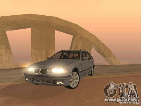 BMW 318 Touring para GTA San Andreas left