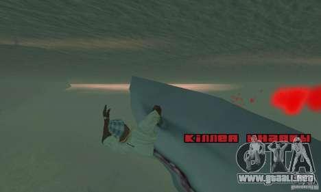 Shark Killer para GTA San Andreas segunda pantalla