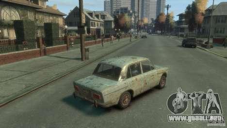 VAZ 2103-Rusty v1.0 para GTA 4 Vista posterior izquierda