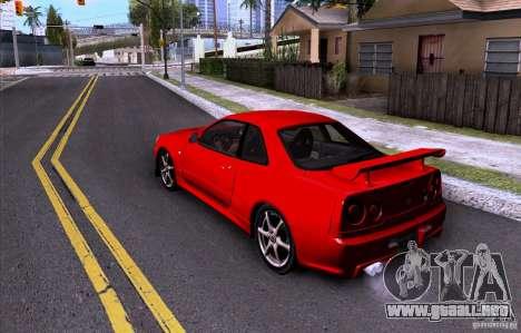 ENBSeries by HunterBoobs v3.0 para GTA San Andreas sucesivamente de pantalla