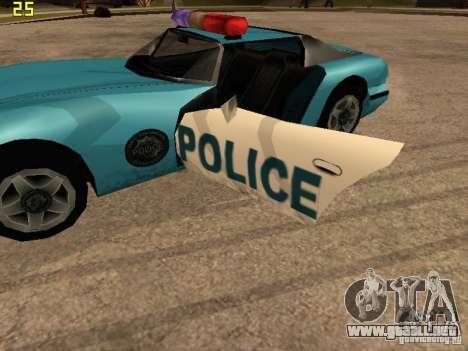 Banshee Police San Andreas para la visión correcta GTA San Andreas