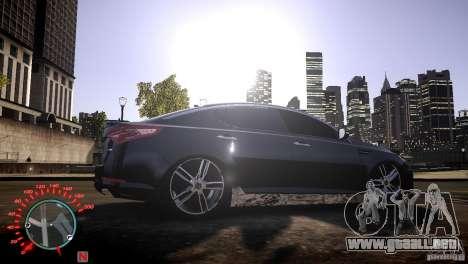 Kia Optima Dub para GTA 4 visión correcta
