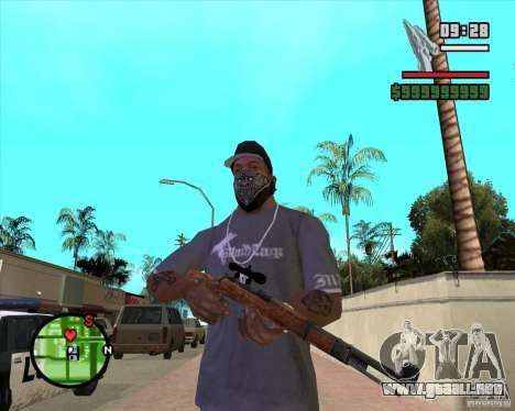 K98 para GTA San Andreas segunda pantalla