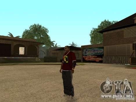 Mike Windows para GTA San Andreas sucesivamente de pantalla