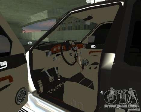 Toyota Surf v2.1 para la visión correcta GTA San Andreas