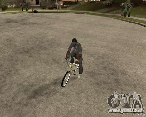 Nueva moto para la visión correcta GTA San Andreas