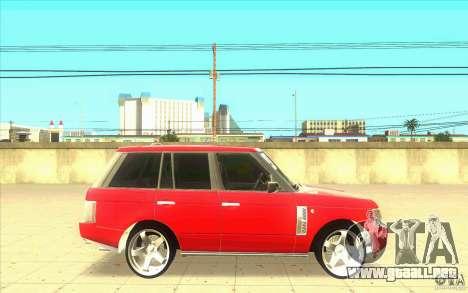Arfy Wheel Pack 2 para GTA San Andreas quinta pantalla