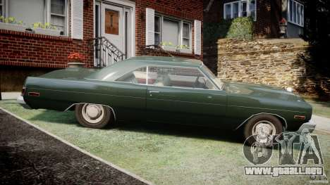Dodge Dart 1975 [Final] para GTA 4 left