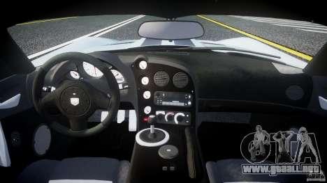 Dodge Viper SRT-10 para GTA 4 visión correcta