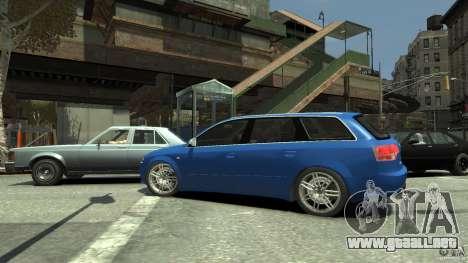 Audi S4 Avant para GTA 4 vista interior