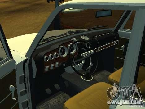 VAZ 2106 Touring para GTA San Andreas vista hacia atrás