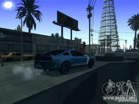 ENB Series By Raff-4 para GTA San Andreas sucesivamente de pantalla