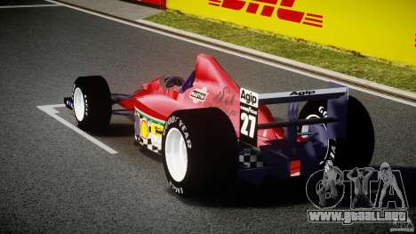 Ferrari Formula 1 para GTA 4 Vista posterior izquierda