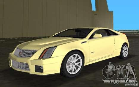 Cadillac CTS-V Coupe para GTA Vice City