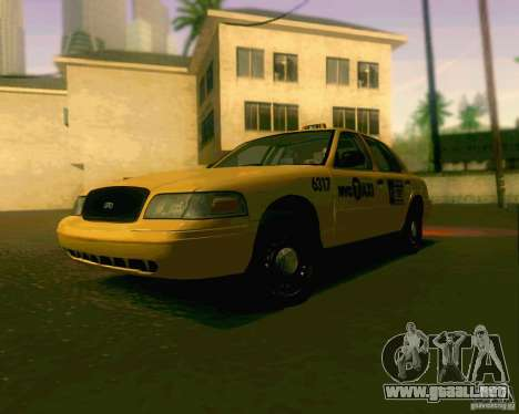 Ford Crown Victoria 2003 NYC TAXI para GTA San Andreas