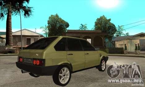 VAZ 21093 para la visión correcta GTA San Andreas