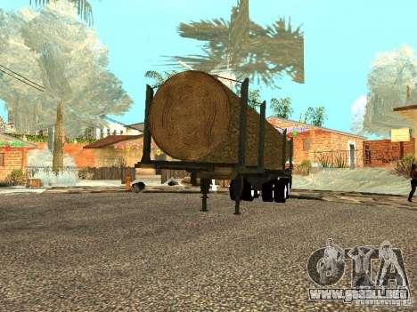 Árbol caído para la visión correcta GTA San Andreas