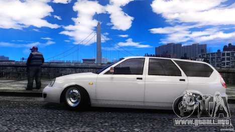 VAZ-2171 Touring para GTA 4 left