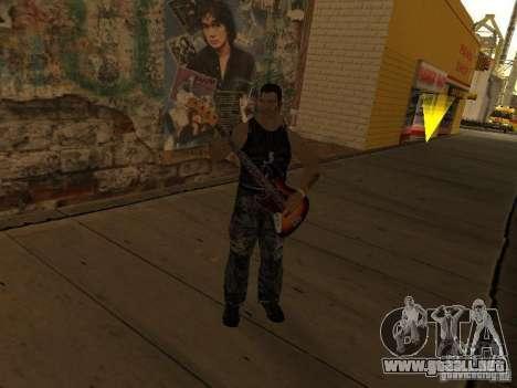 Canciones de la película en la guitarra para GTA San Andreas