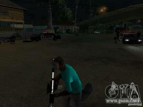 Máscara de Guy Fawkes para GTA San Andreas segunda pantalla