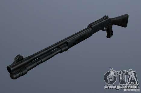 XM1014 para GTA San Andreas segunda pantalla
