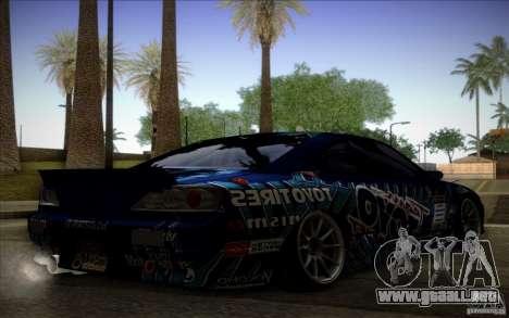 Nissa Silvia S15 Toyo para GTA San Andreas left