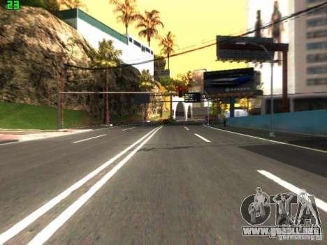 Roads Moscow para GTA San Andreas segunda pantalla