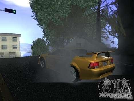 Ford Mustang SVT Cobra para GTA San Andreas vista hacia atrás