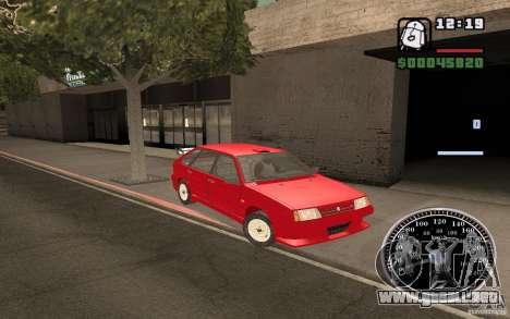 VAZ 21093i para las ruedas de GTA San Andreas