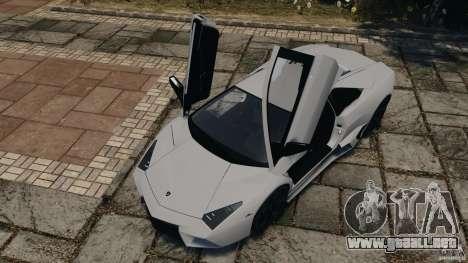 Lamborghini Reventon 2008 v1.0 [EPM] para GTA 4 vista desde abajo