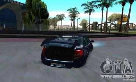Lada Granta Low para la visión correcta GTA San Andreas